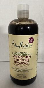 Shea Moisture Sheamoisture Jamaican Black Castor Oil Strengthen Restore Shampoo