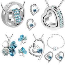 Modeschmuck-Sets aus Kristall mit Kristall für Damen