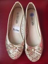 Corte De Oro Oro 6 Zapatos Planos Bailarinas