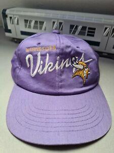 Vintage NFL Snapback Cap Minnesota Vikings  Amcap NBA Starter Sports Specialties