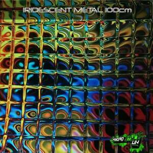 ROLLED - IRIDESCENT METAL Hydrographics Film Hydro Dipping Graphic Transfer Dip