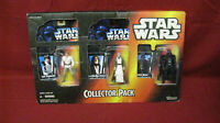 Star Wars 3 Piece Collectors Pack Power of the Force Luke, Obi-Wan, Darth Vader