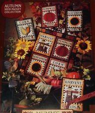 Debbie Mumm Autumn Seed Packet Collection Quilt Sunflower Pumpkin Fall Harvest