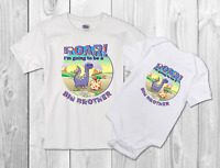I'm going to be a  big brother childrens dinosaur T Shirt/bodysuit
