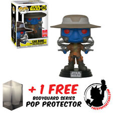 FUNKO POP STAR WARS CLONE WARS CAD BANE SDCC 2018 EXCLUSIVE + FREE POP PROTECTOR