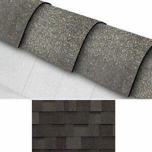 Hip & Ridge Roofing Felt Shingles - Roof Covering - Shed Felt - Grey - Tiles