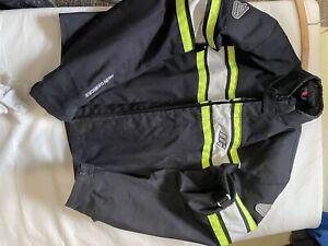 Hein Gericke Shell-tex motorcycle jacket, black Large