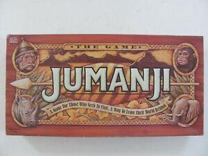 Vintage Jumanji Board Game Milton Bradley 1995 - Complete