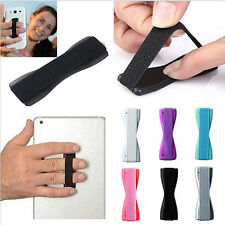 Universal Finger Grip Selfie Strap Plastic Sling Phone Holder For iPhone Samsung