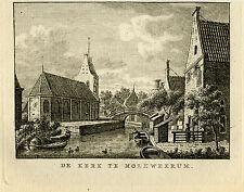 Antique Print-MOLKWERUM-FRIESLAND-Bulthuis-Bendorp-1792