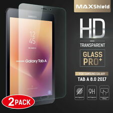 2X Samsung Galaxy Tab A 8.0 2017 Full Coverage Tempered Glass Screen Protector