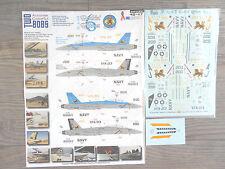"""F/A-18F HORNET """"2USN/VFA-213 ROCKING RHINOS"""" TWOBOBS DECALS 1/48"""