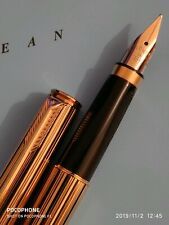 Parker 75 Premier Athens fountain pen with 18k solid gold nib NEAR MINT
