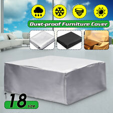 Waterproof Garden Rattan Corner Furniture Cover Outdoor Sofa Table Chair Protect