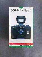 Hanimex - 35 Micro Flash - Vintage 35mm Film Camera (Japan) NIP
