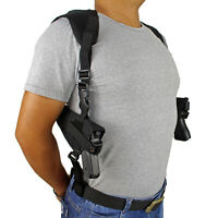 Concealed Carry Double Draw Shoulder Holster for Halloween Cosplay Masquerade