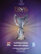 off. Programme Ucl Final 1/6/2017 Olympique Lyonnais vs Paris Sg