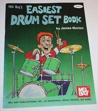 Hard to Find - Mel Bay's Easiest Drum Set Book by James Morton