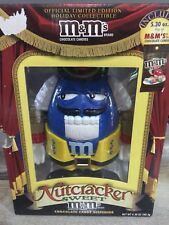 m&m's chocolate candy dispenser nutcracker limited edition holiday collectable