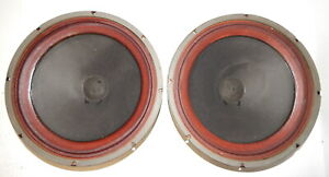 "leslie organ 15"" 4 ohm woofers 031070 1098902"