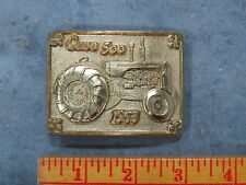 Vintage CASE 500 Tractor Belt Buckle 1953 Limited Edition SC Spec Cast GOLD