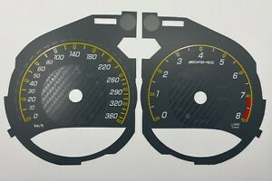 Mercedes-Benz GT speedometer dial from MPH  to km/h 360km/h