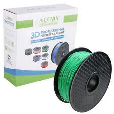 Acenix ® Verde PLA filamento de impresora 3D 1.75 mm 1 kg filamento de carrete para impresión 3D