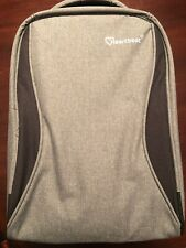 Heartbeat Anti theft Backpack Water Repellent USB Grey/Black Backpack