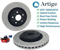 Performance Front Brake Rotors fit FPV AUIII BA BF FG 4 & 6 Piston Caliper 355mm