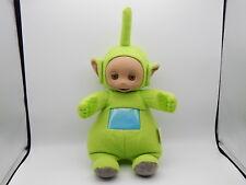 "Vintage 1998 Teletubbie Dipsy Green Plush Talking Doll Hasbro 16"" Tall"