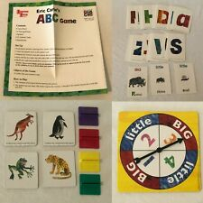 Eric Carles ABC Board Game Replacement Parts Pieces Cards Movers Instructions