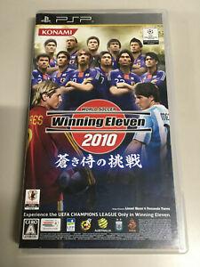 World Soccer Winning Eleven 2010 Aoki Samurai no Cyosen [ PSP ] Japan Import