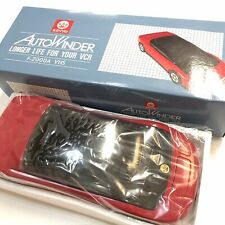 Kinyo Red Sports Car VCR VHS Video Cassette Tape Rewinder Autowinder F-2000a NEW