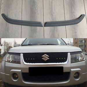 For Suzuki Grand Vitara Escudo 2005-2018 Headlight Mask Cover Eyelashe Eyelids