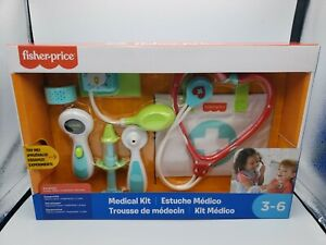 Toy Medical Kit, Preschool Pretend Doctor Playset by Fisher-Price