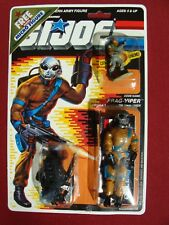 GI Joe Frag-Viper w Micro Figure Road Block MOSC