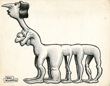 BASIL WOLVERTON 10 Legs ORIGINAL ILLUSTRATION ART Comic Art
