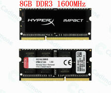 For Kingston HyperX Impact 8GB 1600MHz DDR3L PC3L-12800S CL9SO-DIMM Laptop RAM