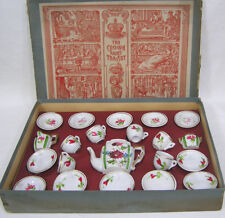Crown Fairy Childs Tea Set in Box Made in Germany Complete ! Teapot Creamer PLUS