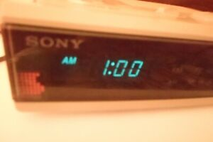 Sony Dream Machine Clock Radio - model ICF C5W