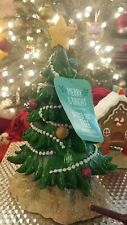 Merry & Bright Fish Tank Aquarium Christmas Decoration Tree New 10""