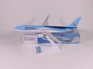 THOMSON AIRWAYS (TUI) Boeing 737-800 Aircraft Model 1:200 Scale Premier Planes