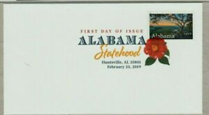 US 2019 SCOTT #5360 ALABAMA STATEHOOD DIGITAL COLOR PRINT FIRST DAY ISSUE COVER