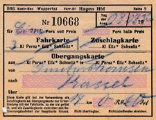 ANTIGUO BILLETE DRG al Kassel von 1936 para 0,60rm (agk1664)