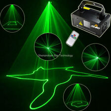 50mW Green Line Scans DMX Sound DJ Dance Bar Party Disco Lighting Laser Light