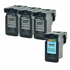 3PK 240XL + 1PK 241XL Ink for Canon PIXMA MG3120 MG3222 MG3520 MX432 MX459