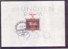 Deutsches Reich 1937 - Block 10 gestempelt Ersttag - Michel 130,00 € (146)