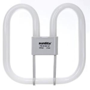 Sunlite F38/2D/835/4P 38 Watt 2D Lamp, GR10Q Base, Neutral White