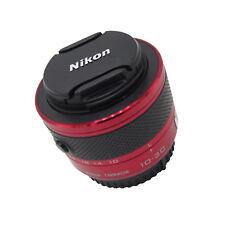 Red Nikon 1 NIKKOR 10-30mm f/3.5-5.6 VR Zoom Lens for J1 J2 J3 V1 V2 Camera Part