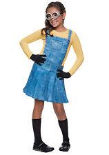 *BRAND NEW* Minion Halloween Costume Child Size FEMALE SMALL 4-6 Dress Up